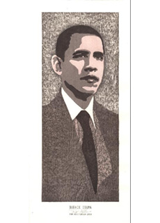 Barack Obama by Tom Kristensen