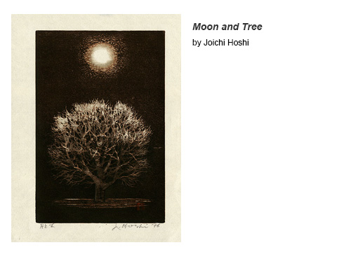 Moon and Tree by Joichi Hoshi
