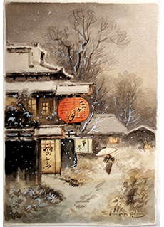 Winter Light by Fukutaro Terauchi