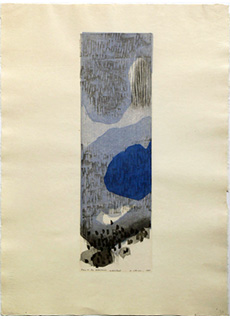 Rain In The Mountains by Ansei Uchima