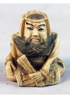 19th Century Japanese Netsuke Wise Man