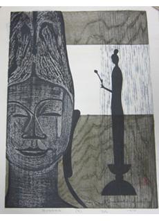 Buddha (B) by Kiyoshi Saito