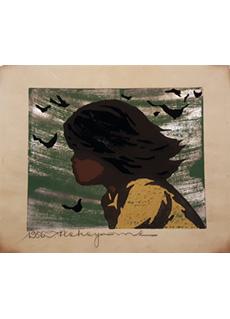 Girl In the Wind by Tadashi Nakayama