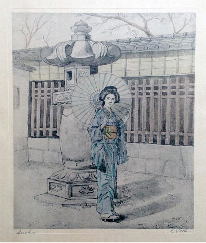 Geisha by Anita Seiler