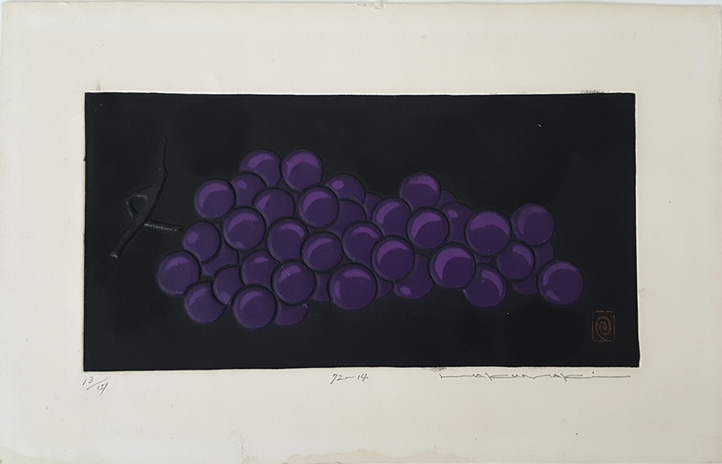 72-14 Grapes by Haku Maki