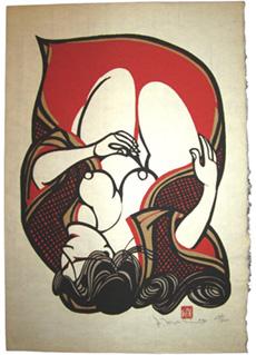 Red Nude by Yoshitoshi Mori