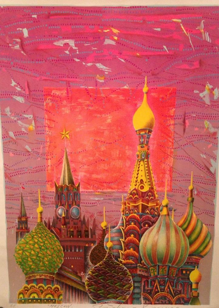Moscow A.P. by Risaburo Kimura