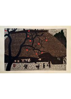 Autumn in Nara by Kiyoshi Saito