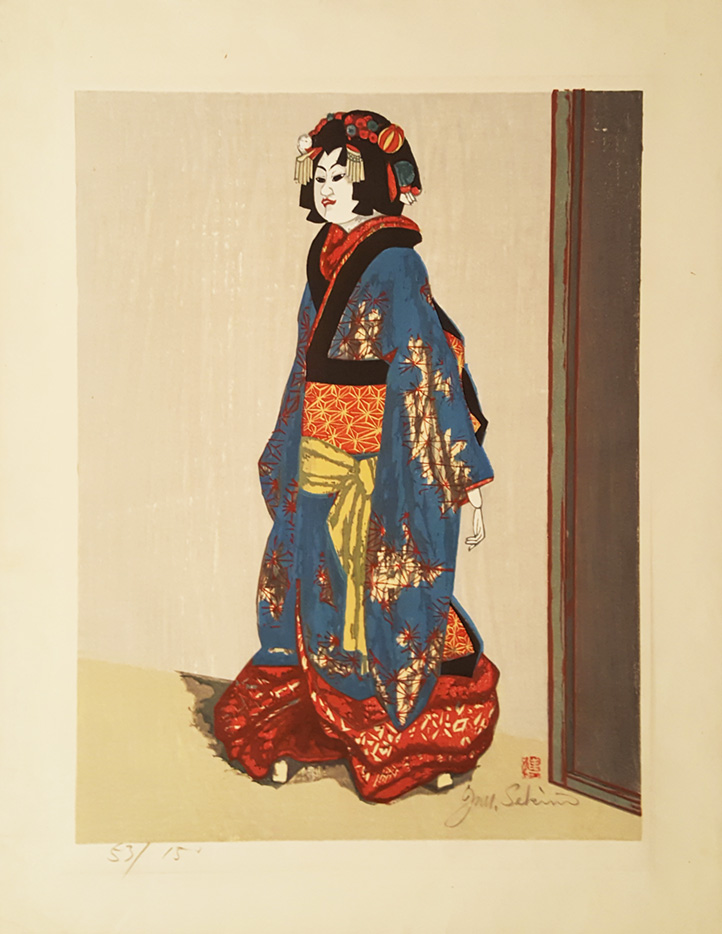 Maiko by Junichiro Sekino