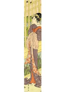 Standing Lady Hashira by Toyokuni I