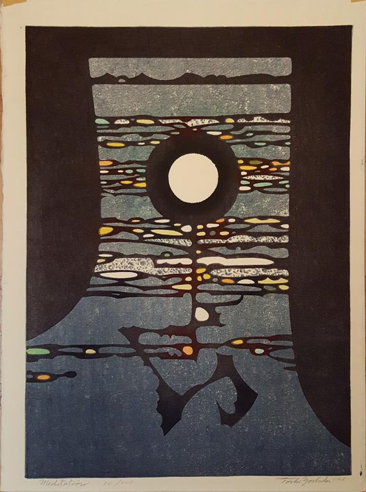 Meditation by Toshi Yoshida