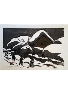 Winter in Aizu by Kiyoshi Saito