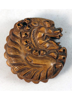 19th Century Japanese Netsuke Mythological Creature