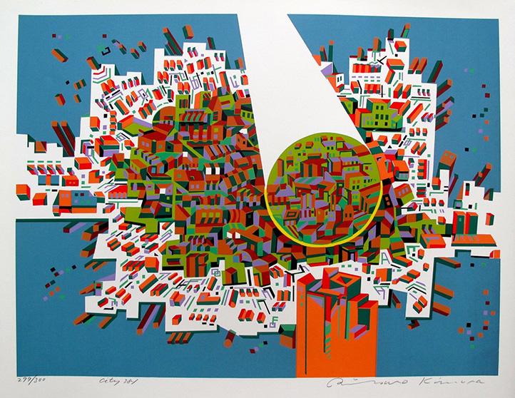 City 381 by Risaburo Kimura