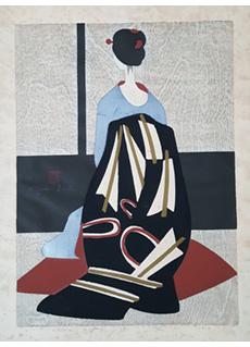 Maiko Kyoto A by Kiyoshi Saito