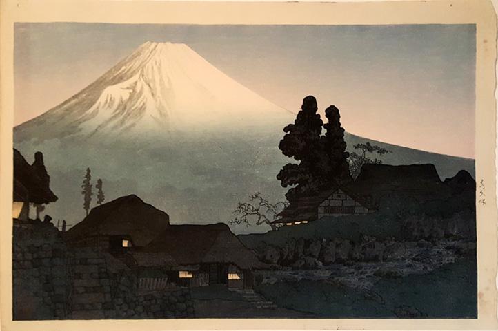 Fuji From Mizukubo by Takahashi Hiroaki Shotei