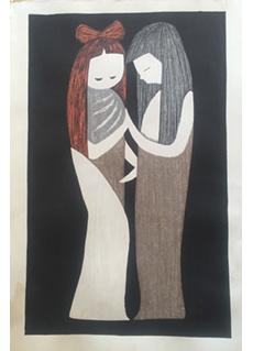Two Girls by Kaoru Kawano