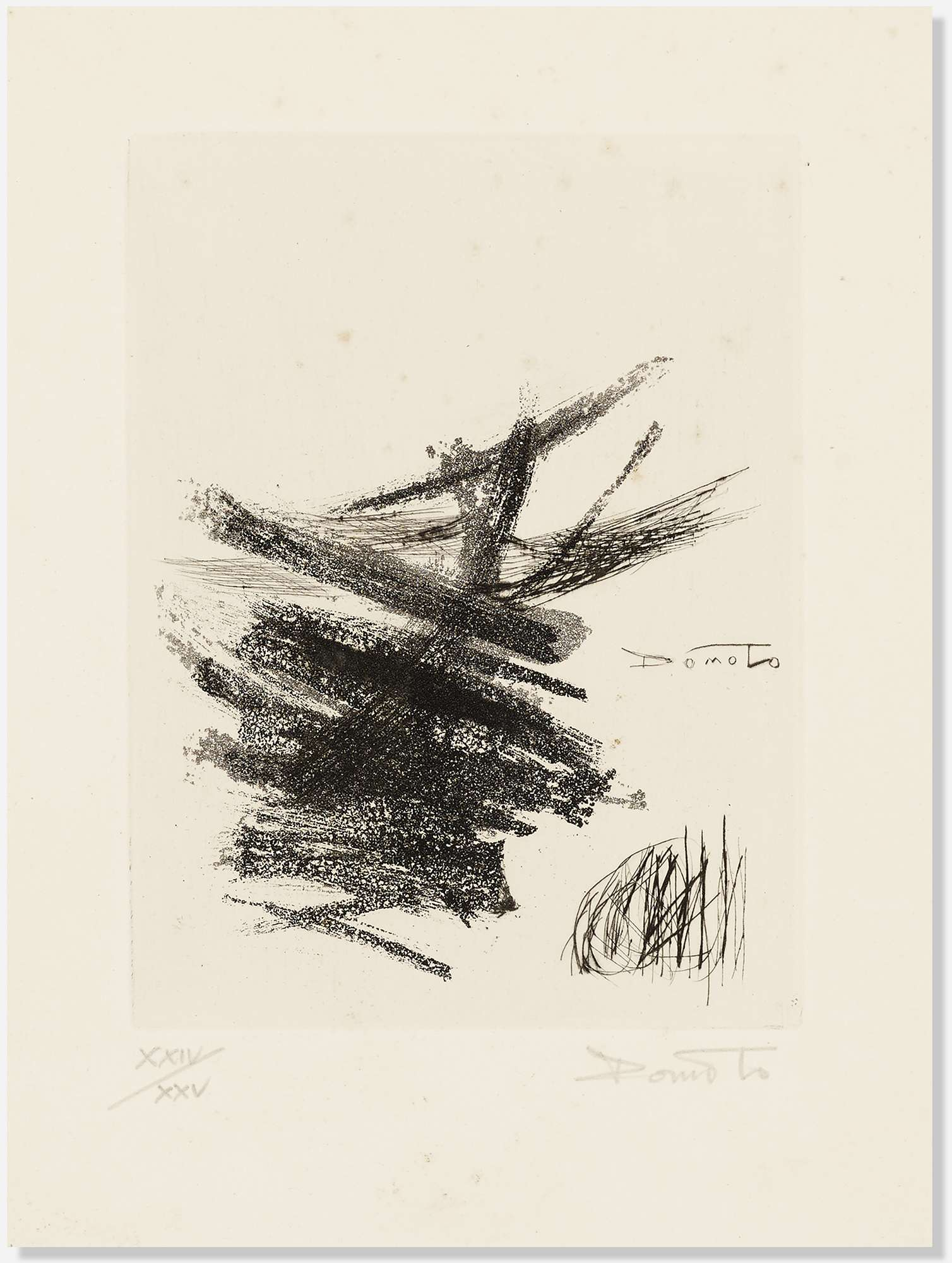Untitled IV (from The International Avant-Garde, Vol. 1) by Hisao Domoto