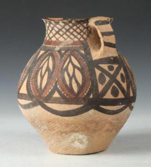 Chinese Neolithic Pottery Vessel 2300-2000 B.C.