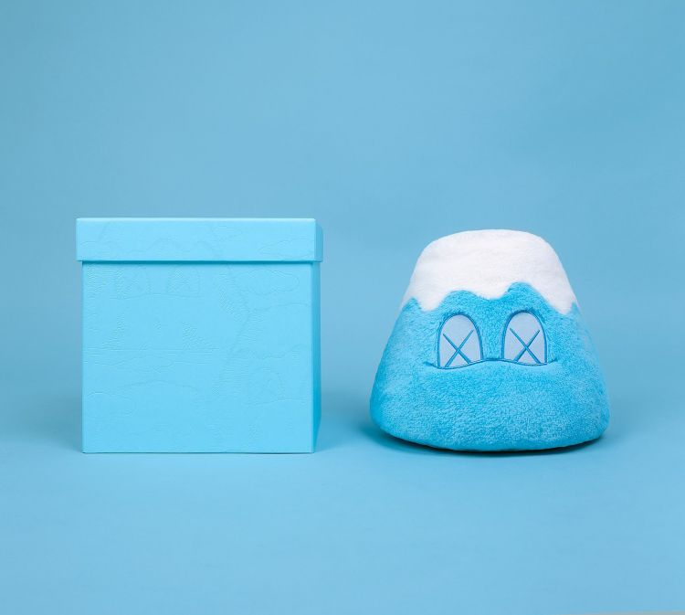 Holiday Japan Mt Fuji Plush Blue by KAWS
