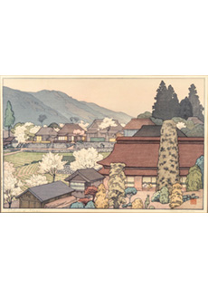 Village of Plums by Toshi Yoshida