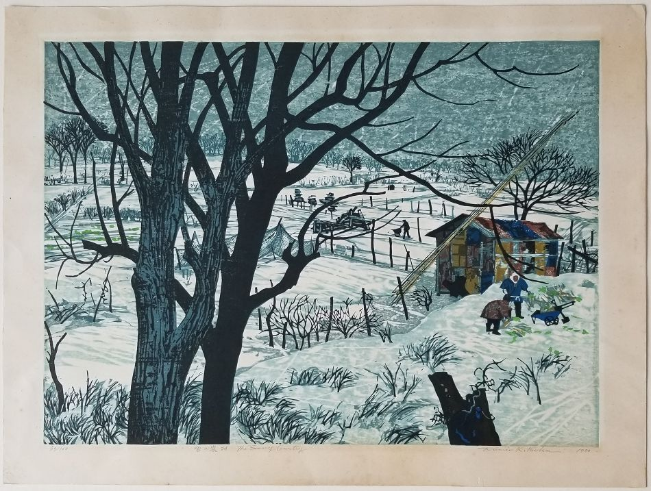 The Snowy Country by Fumio Kitaoka